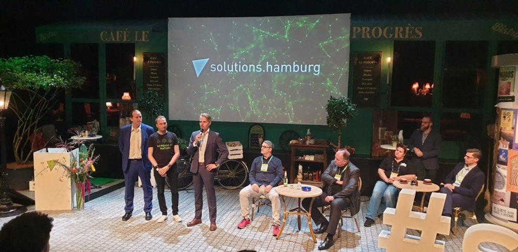 Solutionshamburg - die Eröffnung